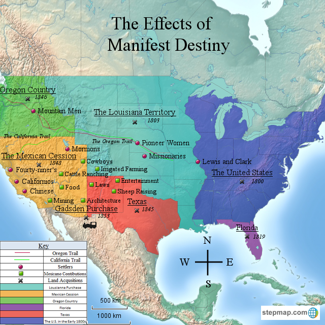 The CSN Sociology Student Legacy Wiki licensed for non-commercial use only / Manifest destiny