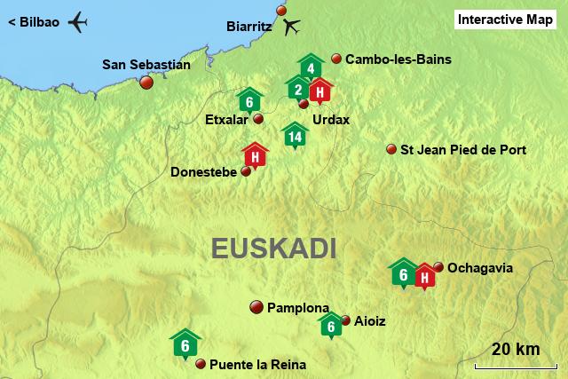 Stepmap All Props Navarra Landkarte Fur Spain