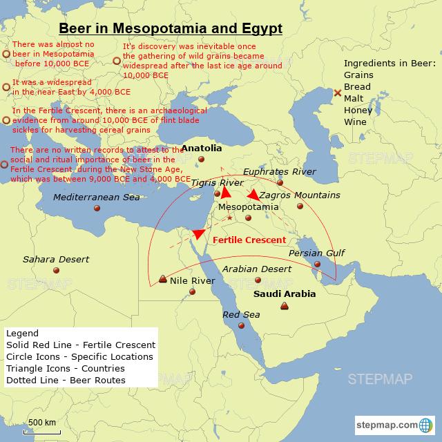 mesopotamia and egypt