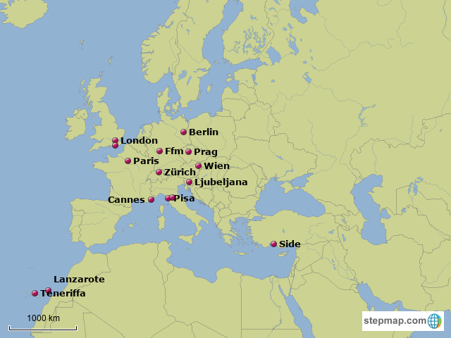 StepMap - Cities I've visited - Landkarte für Europe on map of europe 1200, map of europe showing prussia, map of europe during the enlightenment, map of europe 1938, map of new york in the 1700s, map of europe 1100, map of europe in medieval times, map of europe 1800, map of europe 900, map of europe renaissance, map of europe 1648, map of europe bodies of water, map of europe world war ii, map of europe 1000, map of europe 1300, map of europe in 1918, map of europe 1400, map of europe during napoleonic era, map of europe after 1871, map of europe 1500,