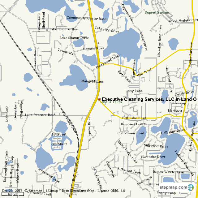 land o lakes map Stepmap Executive Cleaning Services Llc In Land O Lakes land o lakes map
