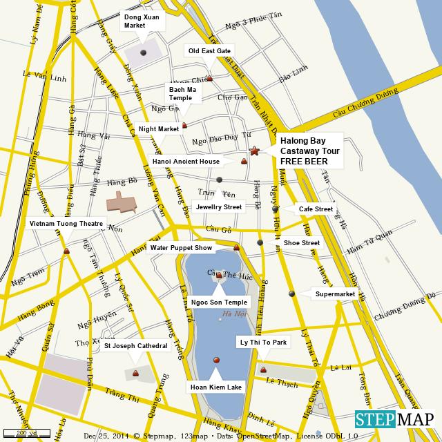 Map Ha Noi.Stepmap Free Map Of Hanoi Landkarte Fur World
