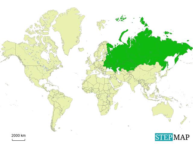 Stepmap Greater Russia Title Landkarte Fur Germany