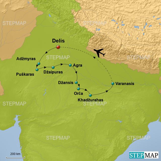 Map 501.Stepmap Indijos Sįspudingiausi Indijos Atspindziai Ir Holi