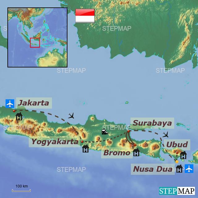 Stepmap Indonesia Bali
