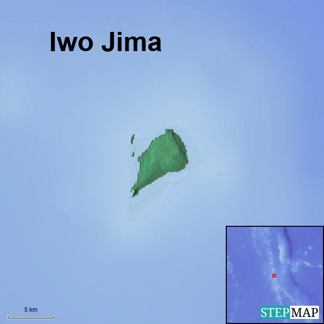 StepMap - Iwo Jima - Landkarte für Germany on tarawa map, battle of the coral sea, john basilone, new guinea map, formosa map, letters from iwo jima, guam map, coral sea map, battle of leyte gulf, flags of our fathers, battle of iwo jima, bataan death march, pacific war, hiroshima map, south pacific map, moscow map, ww2 map, ira hayes, pearl harbor map, sudetenland map, guadalcanal map, wake island, saipan map, singapore map, guadalcanal campaign, nagasaki on map, japan map, rene gagnon, raising the flag on iwo jima, korea map, world map, midway map, battle of peleliu, okinawa map, okinawa prefecture, battle of okinawa, okinawa island,