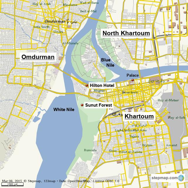 StepMap - Khartoum - Landkarte für World on damascus map, lake victoria map, casablanca map, tripoli map, kinshasa map, jerusalem map, cairo map, amman map, meroe map, monrovia map, windhoek map, juba map, bujumbura map, addis ababa map, yerevan map, nairobi map, asmara eritrea map, riyadh map, pretoria map, brazzaville map,