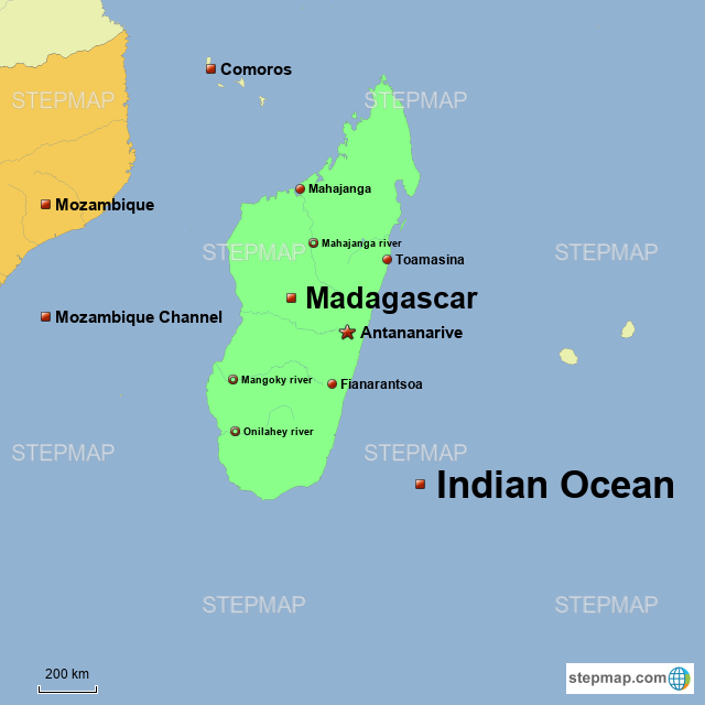 StepMap - Madagascar - Landkarte für Africa on wind map of madagascar, agriculture map of madagascar, mineral map of madagascar, topographic map of madagascar, geography of madagascar, physical map of madagascar, natural resource map of madagascar,