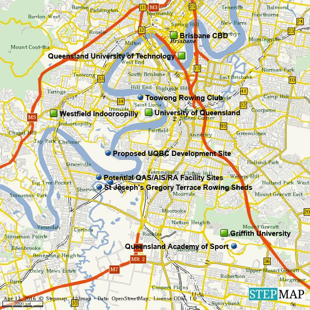 StepMap - NTC Locations Map - Landkarte für World