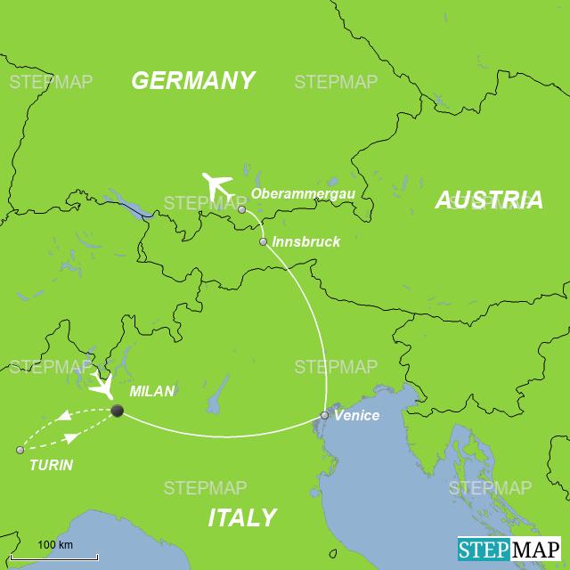 Oberammergau Germany Map.Stepmap Oberammergau Passion Play 2020 Landkarte Fur Germany