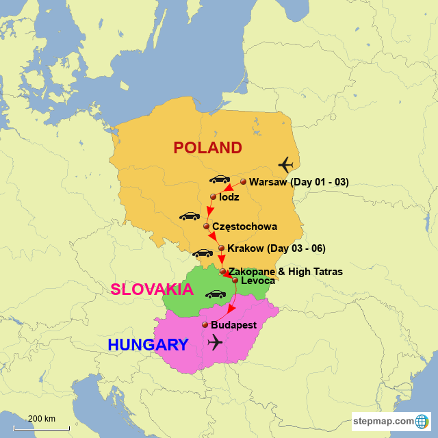 StepMap - Poland & Hungary - Landkarte für Europe on hungry country map, venezuela map, hungarian people, south america map, europe map, romania map, the balkans map, czech republic, dominican republic map, eastern europe, eurasia map, greece map, poland map, germany map, italy map, portugal map, banat map, france map, austria map, european union, turkey map, arabia map, israel map,