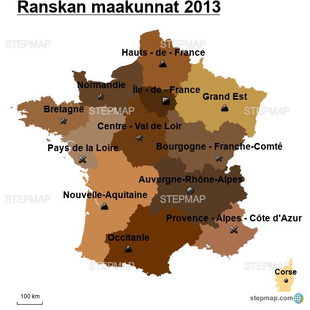 Ranskan Maakunnat
