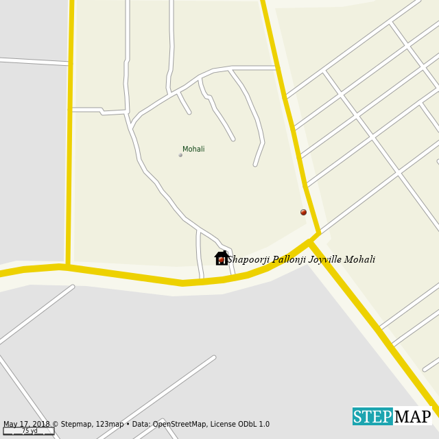 Punjab World Map.Stepmap Shapoorji Pallonji Joyville Mohali New Apartment Punjab