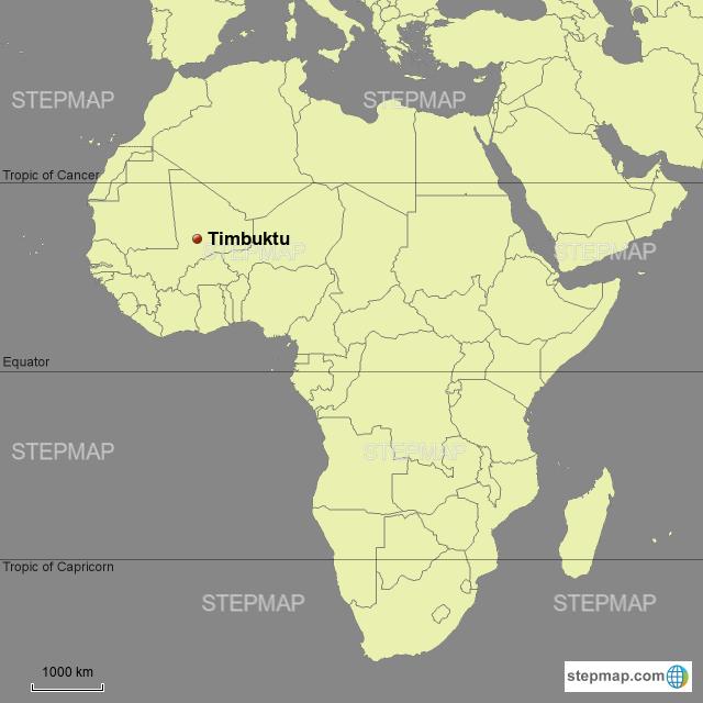 Stepmap Timbuktu Landkarte Fur Africa