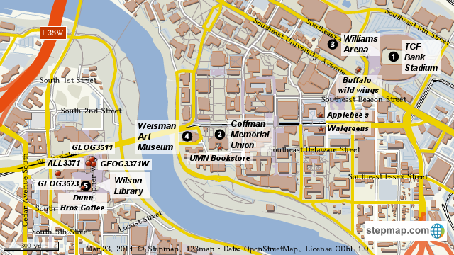 StepMap - UMN new map - Landkarte für World on usda map, usd map, care map, university of minnesota twin cities map, austin street map, umd map, umt map, uc map, university of minnesota parking map, ucdavis map, umc map, und map, umo map, u of m twin cities map, university of minnesota west bank map, upj map, university of minnesota minneapolis map, u of m campus map, minnesota campus map, um map,