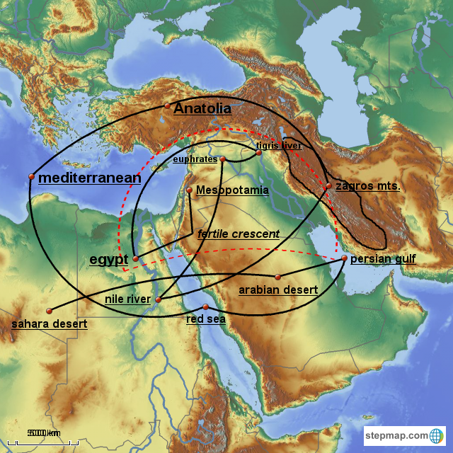 StepMap   beer in mesopotamia and egypt   Landkarte für Germany